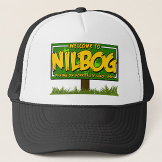 nilbog trucker hat
