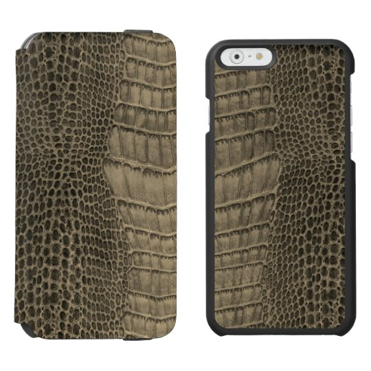 Nile Crocodile Classic Reptile Leather (Faux) Incipio Watson™