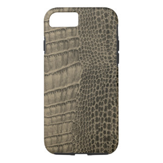 Nile Crocodile Classic Reptile Leather (Faux) iPhone 8/7 Case