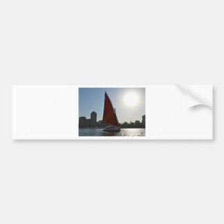 Nile Felucca In The Sun Bumper Sticker