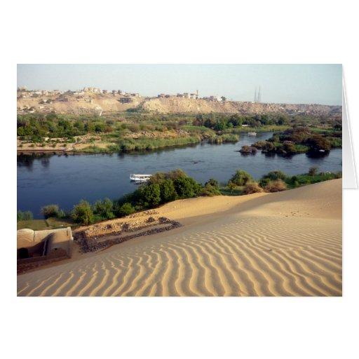 Nile River Sand Dune