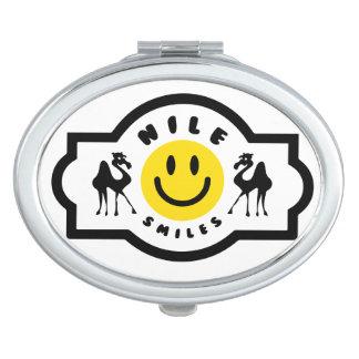 Nile Smiles Compact Vanity Mirror