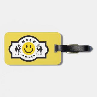 Nile Smiles Luggage Tag