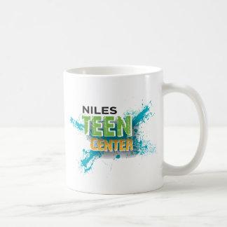 Niles Teen Center Logo Basic White Mug