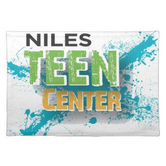 Niles Teen Center Logo Placemat