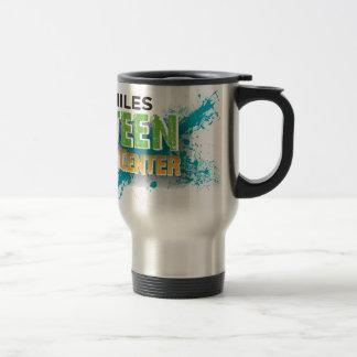 Niles Teen Center Logo Stainless Steel Travel Mug
