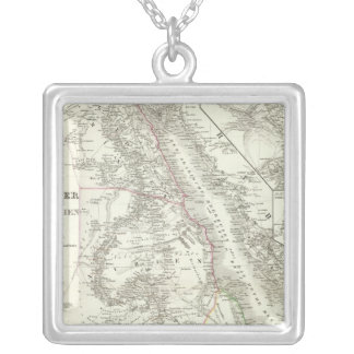 Nillander - The Nile, Africa Silver Plated Necklace