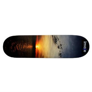 Nimisila Sunset Skateboard Deck