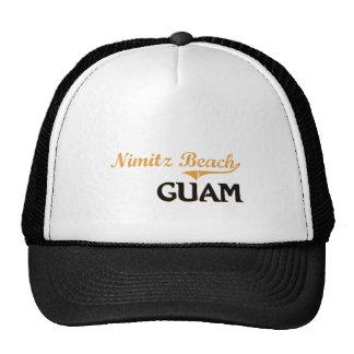 Nimitz Beach Guam Classic Trucker Hat