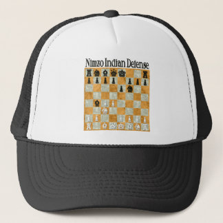 Nimzo-Indian Defense Trucker Hat
