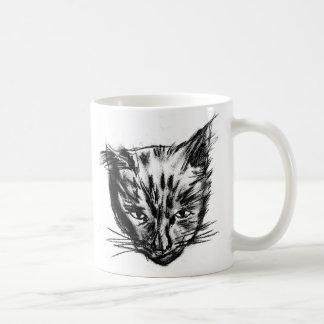 nina charcoal sk blk-wht coffee mug