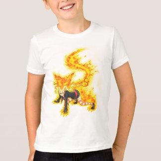 Nina Ferocious Fire Spirit Aura T-Shirt