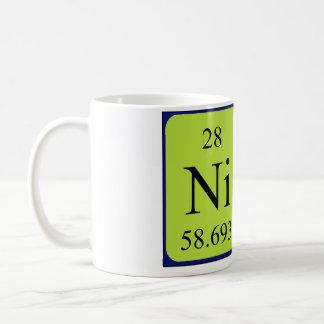 Nina periodic table name mug