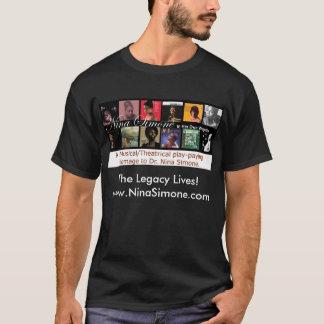 Nina Simone -The Legacy Liv... T-Shirt