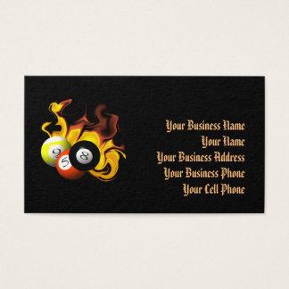 NINE BALL FIRE BUSINESS CARD