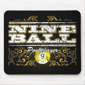 Nine Ball Vintage Design Mouse Mat