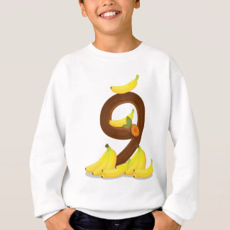 Nine bananas sweatshirt