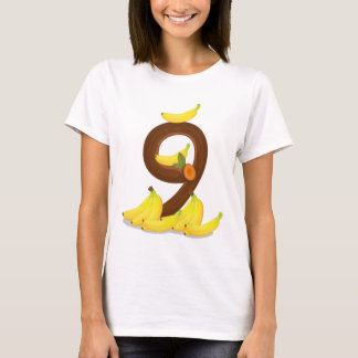Nine bananas T-Shirt