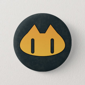 NINE LIVES 6 CM ROUND BADGE