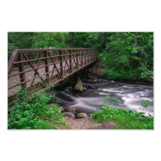 NINE MILE CREEK BRIDGE by Michelle Diehl Photo Print
