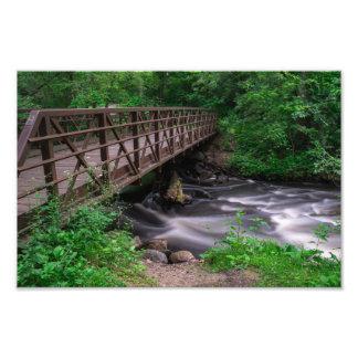 NINE MILE CREEK BRIDGE by Michelle Diehl Photo Print