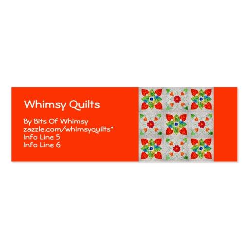 nine patch heart quilt business cards zazzle. Black Bedroom Furniture Sets. Home Design Ideas
