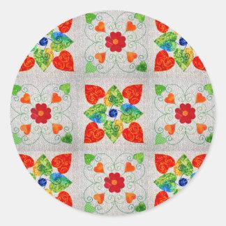 Nine Patch Quilt Sticker!