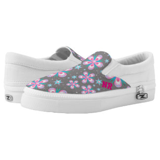 Nine Roses Slip-On Shoes