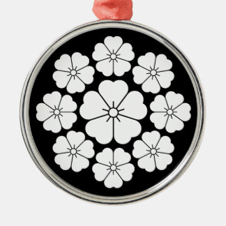 Nine stars-style cherry blossoms christmas ornament