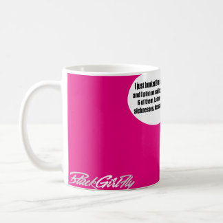Nine Vacations in One Summer?! GOOGLE A SICKNESS! Coffee Mug