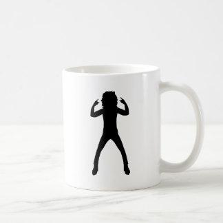 Nineteen Eighties Rocker Basic White Mug