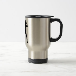 Nineteen Eighties Rocker Stainless Steel Travel Mug