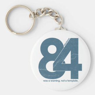 Nineteen eighty Four 1984 Key Chain
