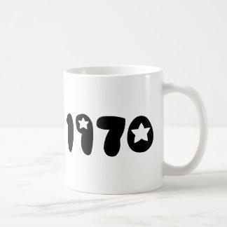 Nineteen Seventy. Basic White Mug