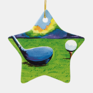 Nineteenth hole golf ornament. christmas ornament
