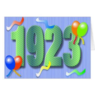 Ninetieth Birthday 1923 Card