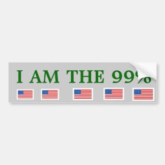 Ninety-Nine Percent* Bumper Stocker Bumper Sticker