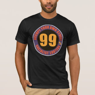 Ninety Nine Percent Socialist Looters T-Shirt