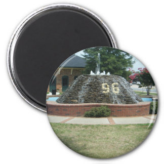 Ninety Six, South Carolina 6 Cm Round Magnet