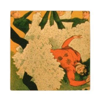 'Nini Patte En L'Air And Her Students' at the Casi Wood Coaster