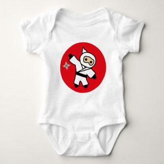 ninja 5 baby bodysuit