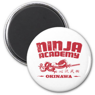 Ninja Academy Okinawa Kill Bill 6 Cm Round Magnet