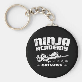 Ninja Academy Okinawa Kill Bill Basic Round Button Key Ring
