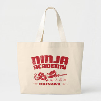 Ninja Academy Okinawa Kill Bill Jumbo Tote Bag