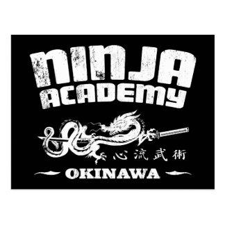 Ninja Academy Okinawa Kill Bill Postcard