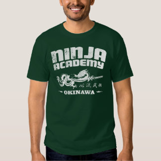 Ninja Academy Okinawa Kill Bill Shirts