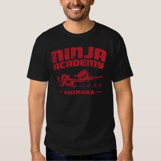 Ninja Academy Okinawa Kill Bill T Shirts