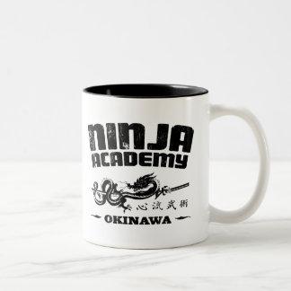 Ninja Academy Okinawa Kill Bill Two-Tone Mug