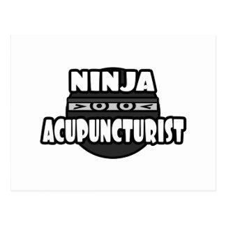 Ninja Acupuncturist Postcards