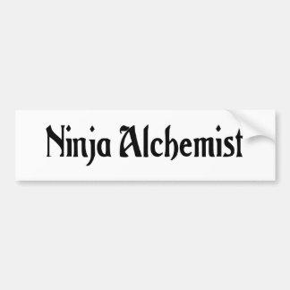 Ninja Alchemist Bumper Sticker